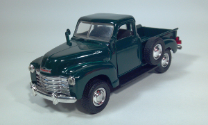 road champs 1949 1950 chevrolet chevy c3100 pickup truck 1:43 diecast scale model toy