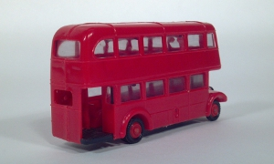 eko autobus dos pisos double deck coach 1:86 ho scale model bus