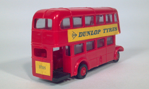 eko autobus dos pisos dunlop tyres double deck coach 1:86 ho scale model bus