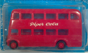 eko autobus dos pisos piper cola double deck coach 1:86 ho scale model bus
