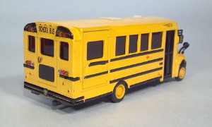international corporation ic be school bus die cast 1:53 scale model toy