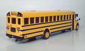 international corporation ic ce school bus die cast 1:53 scale model toy