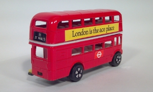 vintage playart 22 st. paul's visit the london transport museum covent garden double decker official souvenir routemaster famous die cast scale model bus