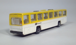 vintage playart scania cr112 rental car hertz courtesy bus die cast 1:87 scale ho gauge model bus