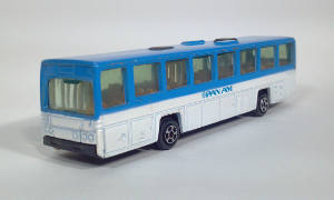 vintage playart scania cr112 pan am american world airlines die cast ho gauge 1:87 scale model bus