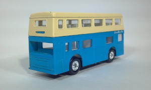 vintage playart the londoner double decker china motor bus diecast scale model toy