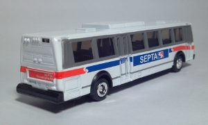 road champs 57000 septa southeastern pennsylvania transportation authority flxible metro transit bus ho gauge 1:87 diecast scale model toy bus