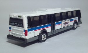 road champs 57001 59455 chicago il illinois transit authority cta 125 watertower flxible metro city transit bus ho gauge 1:87 scale die cast model toy bus