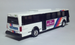 road champs new jersey transit njt 1965 flxible metro city transit bus die cast scale model toy bus