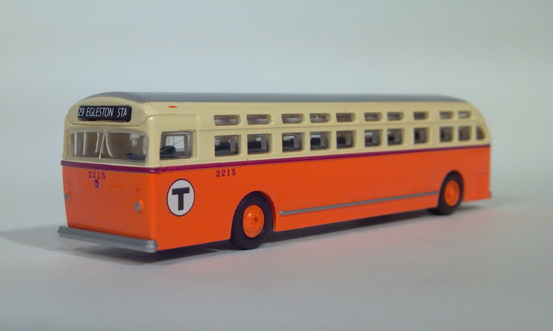 90061 wheels of time coach n scale boston t mbta 2215 29 ... Pacific Railway Company